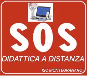 SOS DIDATTICA A DISTANZA